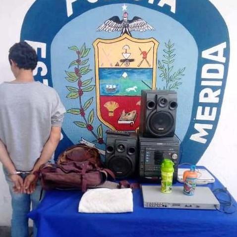 """Diario Frontera, Frontera Digital,  CAMPO ELÍAS, MÉRIDA, Sucesos, ,POLICÍA APREHENDIÓ A  """"EL LOLO"""" POR HURTO  EN EL MUNICIPIO CAMPO ELÍAS"""