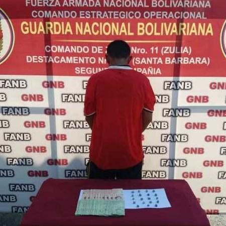 Diario Frontera, Frontera Digital,  GNB, Sucesos, ,GNB APREHENDIÓ A CIUDADANO CON 19 ENVOLTORIO  DE PRESENTA  MARIHUANA EN CAJA  SECA
