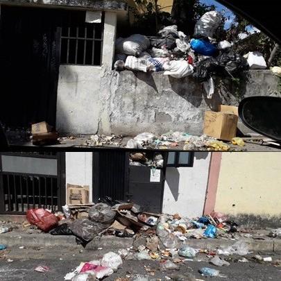 Diario Frontera, Frontera Digital,  EL ENTABLE, LOS CUROS, MÉRIDA, BASUIRA, Regionales, ,El Entable, Urb. Los Curos de Mérida, inundado en basura