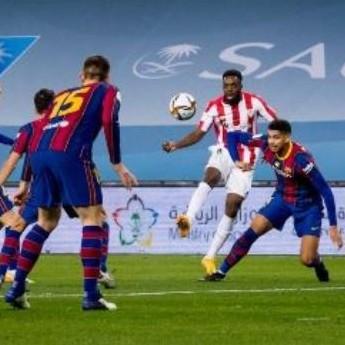 Diario Frontera, Frontera Digital,  SUPERCOPA, ESPAÑA, Deportes, ,Athletic vence al Barcelona en tiempo extra  para ganar su tercera Supercopa