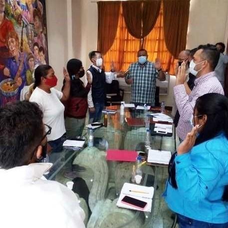 Diario Frontera, Frontera Digital,  CLEBM, MIGUEL REYES, Regionales, ,Miguel Reyes juramentó Comisiones Permanentes para el periodo 2021