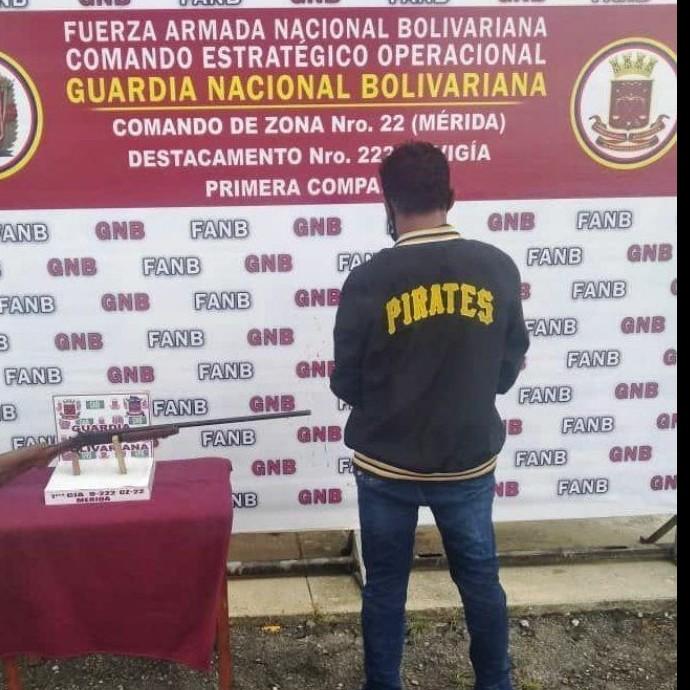 Diario Frontera, Frontera Digital,  GNB, Sucesos, ,GNB atrapó a hombre con una escopeta en El Vigía