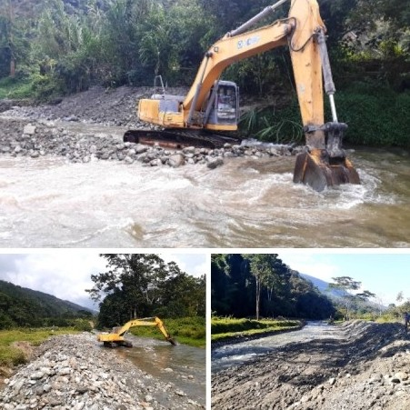 Diario Frontera, Frontera Digital,  MPPT, RÍO MOCOTÍES, Mocoties, ,MPPT culminó trabajos de canalización en  el rio Mocotie