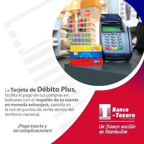 Diario Frontera, Frontera Digital,  banco del tesoro, Nacionales, ,Banco del Tesoro emite tarjeta de débito para facilitar pagos en divisas