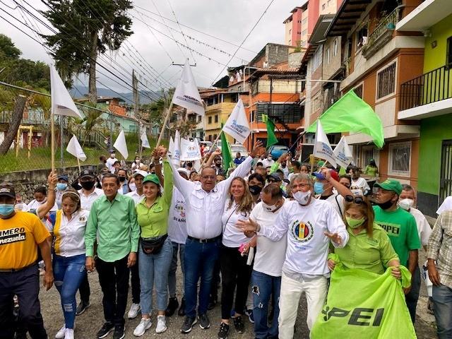 Diario Frontera, Frontera Digital,  ALCIDES MONSALVE, AD, ELECCIONES 21N, Politica, ,Alcides Monsalve recorrió el Barrio Andrés Eloy Blanco en Mérida
