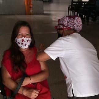 Frontera Digital,  OPERATIVO, TERMINAL DE PASAJEROS, MÉRIDA, Salud,  Operativo de vacunación masiva en la Terminal de Pasajeros