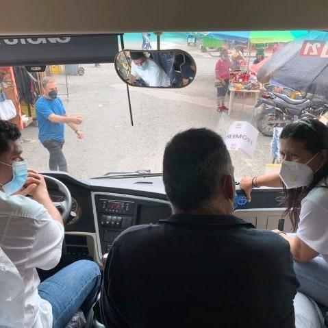 Frontera Digital,  JEHYSON GUZMÁN, Panamericana,  Jehyson Guzmán: presidente Maduro envió unidades   para fortalecer el transporte público en El Vigía