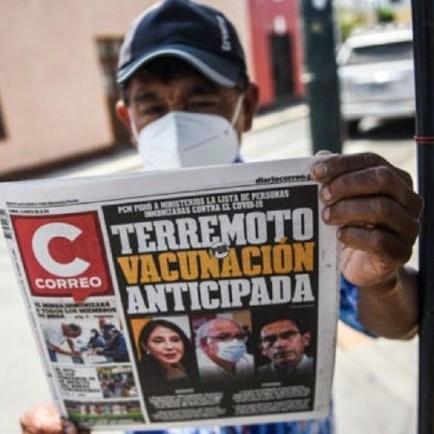 Diario Frontera, Frontera Digital,  PERÚ, VACUNAGATE, Internacionales, ,Escándalo en Perú por vacunación anticipada  contra el Covid-19 de varios funcionarios