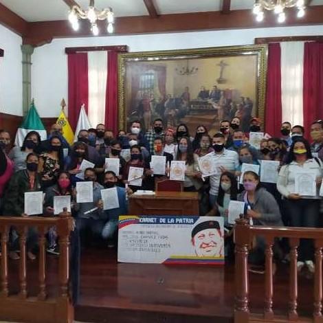 Diario Frontera, Frontera Digital,  CÁMARA MUNICIPAL DEL OLIBERTADOR, MÉRIDA, Regionales, ,Concejales merideños recordaron  el cuarto aniversario del Carnet de la patria