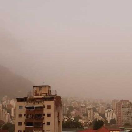 Diario Frontera, Frontera Digital,  POLVO DEL SAHARA, VENEZUELA, Nacionales, ,LLegó a Venezuela el polvo del Sahara