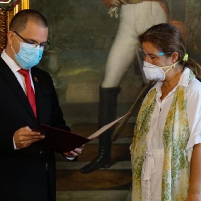 """Diario Frontera, Frontera Digital,  JORGE ARREAZA, UNIÓN EUROPEA, Nacionales, ,Arreaza declaró """"persona non grata"""" a embajadora de la UE"""