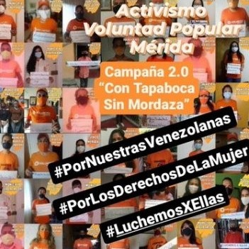 Diario Frontera, Frontera Digital,  VOLUNTAD POPULAR, Politica, ,Joan Gómez- VP Mérida: Seguimos Luchando por ellas,  por su libertad, sus derechos y los de todos nosotros