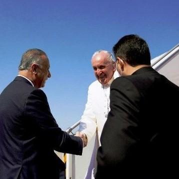 Diario Frontera, Frontera Digital,  FRANCISCO EN IRAK, Internacionales, ,El Papa llega a Irak en la primera visita de un pontífice al país