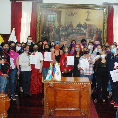 """Diario Frontera, Frontera Digital,  CONCEJO MUNICIPAL DEL LIBERTADOR, Regionales, ,""""La Mujer Revolucionaria es protagonista  de la Revolución Socialista"""""""
