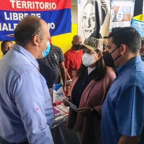 Diario Frontera, Frontera Digital,  Mezin Abou Assi, Panamericana, ,Alcalde Mezin Abou Assi recibió a la ministra Carmen Meléndez