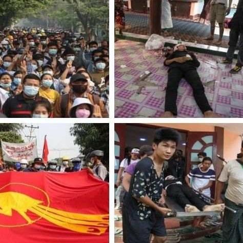 Diario Frontera, Frontera Digital,  BIRMANIA, MUERTOS, Internacionales, ,Sangrienta jornada en Birmania deja unos 100 muertos
