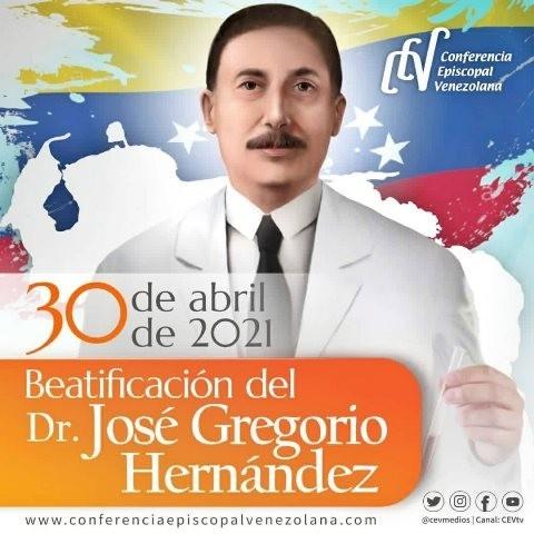 Diario Frontera, Frontera Digital,  JOSÉ GREGORIO HERNÁNDEZ, BEATIFICACIÓN, 30 DE ABRIL DE 2021, Nacionales, ,Beatificación del Dr. José Gregorio Hernández  será el 30 de abril en Caracas