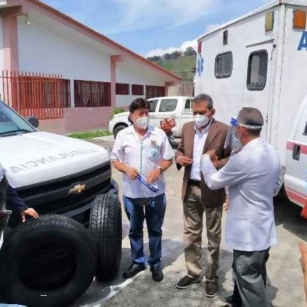 Diario Frontera, Frontera Digital,  GOBIERNO DE MÉRIDA, AMBULANCIAS, EL CHAMA, Regionales, ,Gobierno regional entregó dos ambulancias operativas en la cuenca del Chama