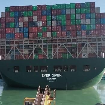 Diario Frontera, Frontera Digital,  LIBERADO EL CANAL DE SUEZ, Internacionales, ,Consiguen liberar el buque Ever Given que bloqueaba el canal de Suez
