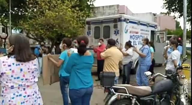 Diario Frontera, Frontera Digital,  AMBULANCIA, HOSPITAL II EL VIGÍA, Panamericana, ,PERSONAL DEL HOSPITAL II DE EL VIGÍA RECUPERÓ  AMBULANCIA Y RECHAZÓ ARBITRARIEDADES DE RAMÓN GUEVARA