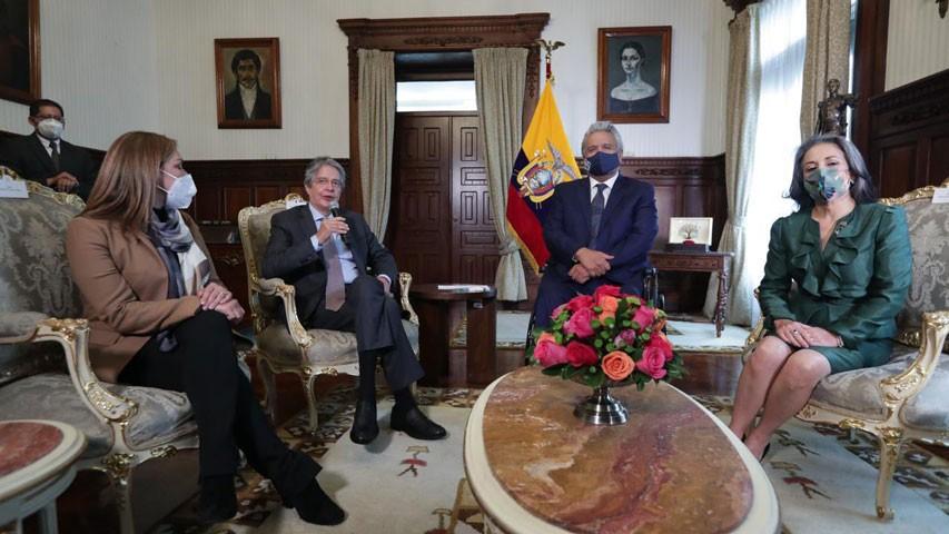 Diario Frontera, Frontera Digital,  ECUADOR, Internacionales, ,Moreno sostuvo encuentro con Lasso  para avanzar en gobierno de transición