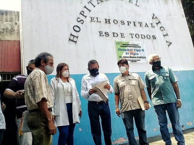 Diario Frontera, Frontera Digital,  Hospital Tipo II, EL VIGÍA, Panamericana, ,Gobernador entregó 2 millardos de bolívares  a la Unidad de Anatomía Patológica