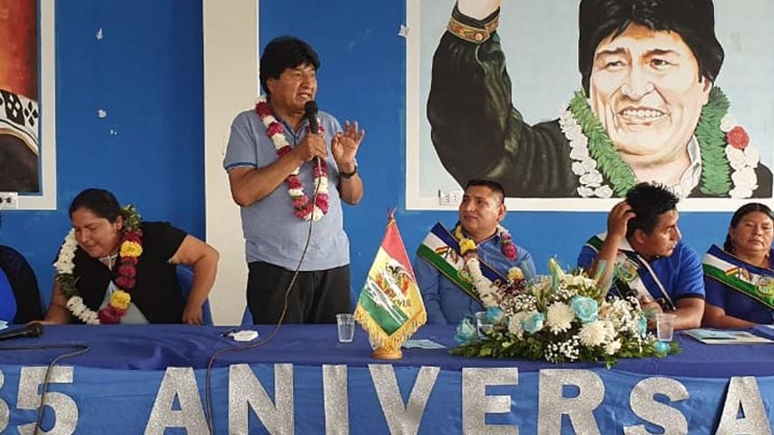 https://fronteradigital.com.ve/Sin finalizar el conteo oficial, Morales anticipa la derrota del MAS en el balotaje