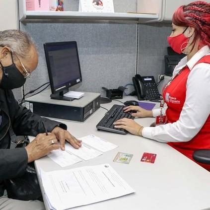 Diario Frontera, Frontera Digital,  BANCO DEL TESORO, Nacionales, ,Banco del Tesoro entregó más 6 mil tarjetas de débito  a pensionados durante operativo especial