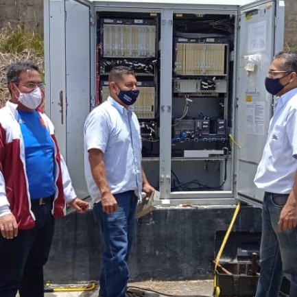 Diario Frontera, Frontera Digital,  ALCALDÍA DE RANGEL, Páramo, ,Refuerzan en materia de seguridad el nodo Cantv de Mucuchíes