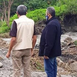 Diario Frontera, Frontera Digital,  ALCALDE LUIS MÁRQUEZ, Mocoties, ,Alcalde Luis Márquez visita zonas afectadas por lluvias