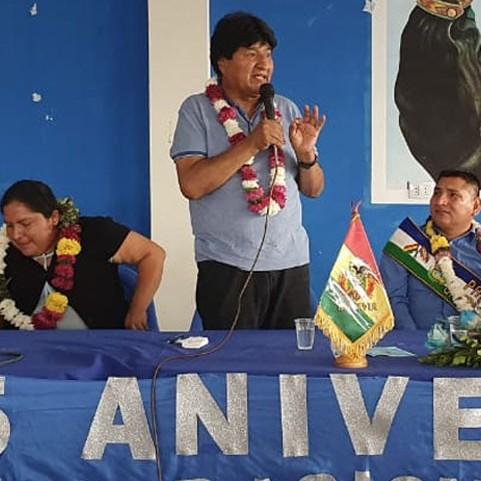 Diario Frontera, Frontera Digital,  BOLIVIA, Internacionales, ,Sin finalizar el conteo oficial, Morales anticipa la derrota del MAS en el balotaje