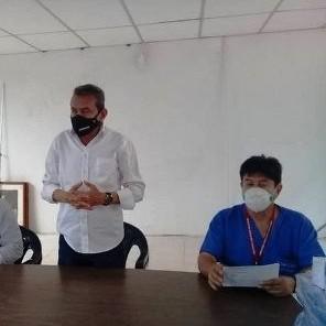 Diario Frontera, Frontera Digital,  Caracciolo Parra y Olmedo, Panamericana, ,Ejecutivo regional y Alcaldía de Caracciolo Parra  trabajan en la optimización del hospital de Tucaní