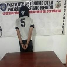 Diario Frontera, Frontera Digital,  POLIMÉRIDA, Sucesos, ,POLICÍA CAPTURÓ A CIUDADANO SOLICITADO  POR HOMICIDIO DESDE MARZO 2021 EN LIBERTADOR