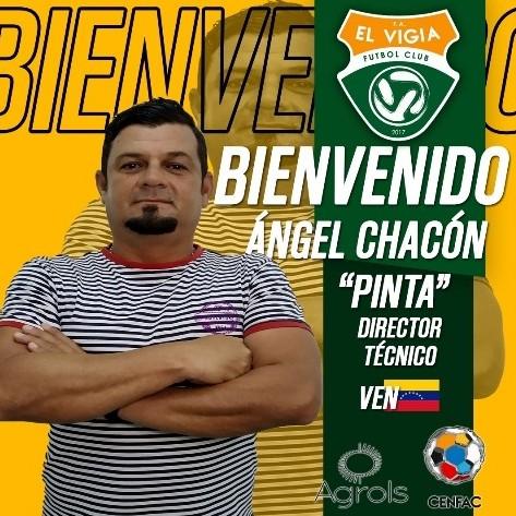 """Diario Frontera, Frontera Digital,  El Vigía FC, Deportes, ,Ángel """"Pinta"""" Chacón asume las riendas  de El Vigía FC para la temporada 2021"""