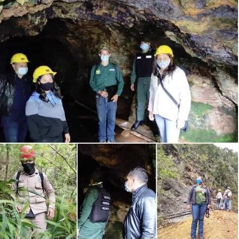 Diario Frontera, Frontera Digital,  MINAS DE BAILADORES, Mocoties, ,Instituciones Gubernamentales inspeccionaron minas de Bailadores