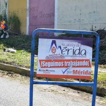 """Diario Frontera, Frontera Digital,  ALCALDÍA DE MÉRIDA, Regionales, ,Alcides Monsalve Cedillo """"Atendemos integralmente la avenida Humberto Tejera en Domingo Peña"""""""