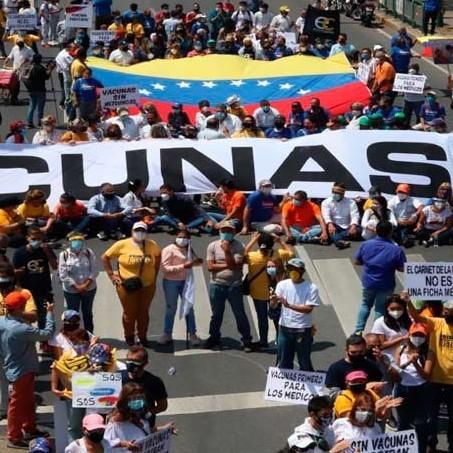 Diario Frontera, Frontera Digital,  VACUNAS YA, VENEZUELA, Nacionales, ,Gremios de la salud exigen el ingreso de vacunas a Venezuela