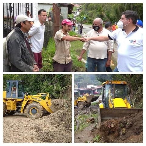 Diario Frontera, Frontera Digital,  EMERGENCIAS, Regionales, ,Emergencias en Mérida son atendidas  de manera oportuna por el Gobierno Bolivariano