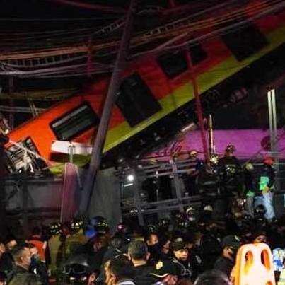 Diario Frontera, Frontera Digital,  METRO DE MÉXICO ACCIDENTE, LÍNEA 12, Internacionales, ,Al menos 23 muertos por el derrumbe  de un tramo del metro de Ciudad de México