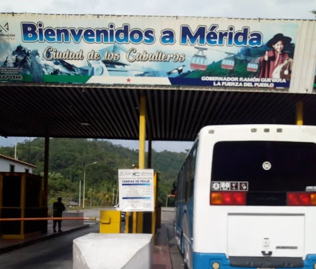Diario Frontera, Frontera Digital,  GOBIERNO DE MÉRIDA, MÉRIDA, AUMENTAN LOS PEAJES, Panamericana, ,Sapvem inició cobro de nuevas tarifas de peaje