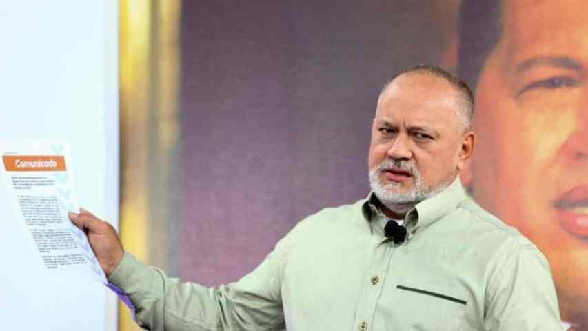 Diario Frontera, Frontera Digital,  DIOSDADO CABELLO RONDÓN, Politica, ,Cabello acusa a rector Márquez de sabotear comicios
