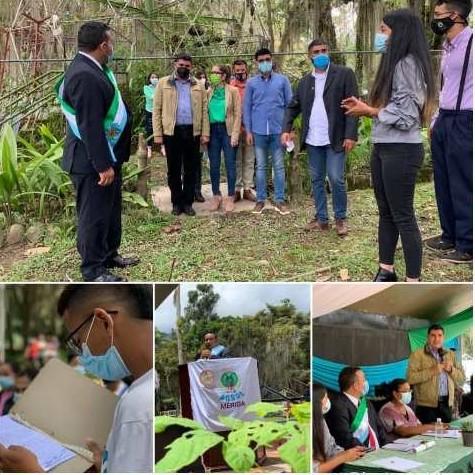 Diario Frontera, Frontera Digital,  sesión especial, día del ambiente, Regionales, ,Josué Lorca en Mérida: Presidente Maduro pidió acelerar proceso de reforestación