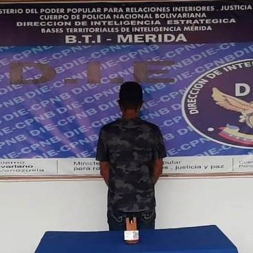 """Diario Frontera, Frontera Digital,  DIE EL VIGÍA, Sucesos, ,D.I.E. EL VIGÍA CAPTURÓ """"EL CHEO"""""""