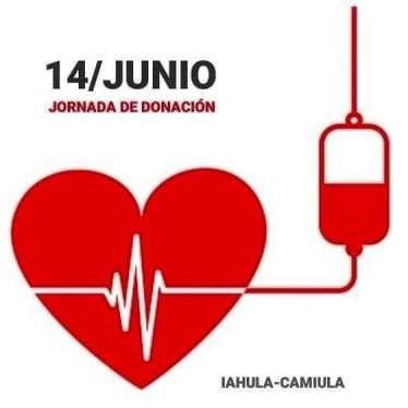 Frontera Digital,  Día Mundial del Donante de Sangre, Salud,  El Iahula conmemorará Día Mundial del Donante de Sangre