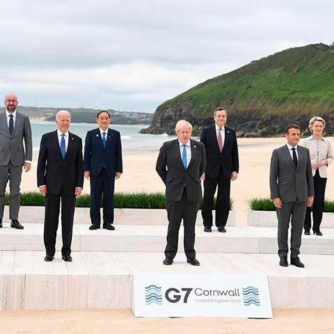 Frontera Digital,  G7, Internacionales,  Comienza primera gran cumbre del G7 desde la pandemia