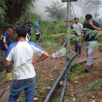 Diario Frontera, Frontera Digital,  MESA BOLÍVAR, EDGAR MÁRQUEZ, Mocoties, ,Edgar Márquez y comunidad  realizan mejoras al acueducto de Mesa Bolivar