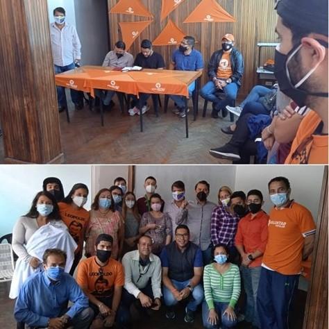 Diario Frontera, Frontera Digital,  VOLUNTAD POPULAR, Politica, ,VP Mérida emprendió gira regional para impulsar el trabajo político