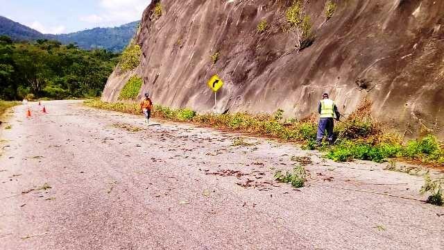 Diario Frontera, Frontera Digital,  Sapvem, Panamericana, ,Sapvem ejecuta trabajos de recuperación en la autopista Rafael Caldera