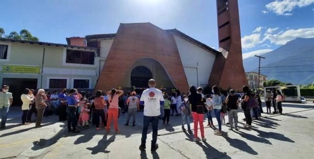 Diario Frontera, Frontera Digital,  Cáritas Mérida, Regionales, ,Cáritas Mérida: Más de 2500 sonrisas por el día del niño en toda la Arquidiocesis