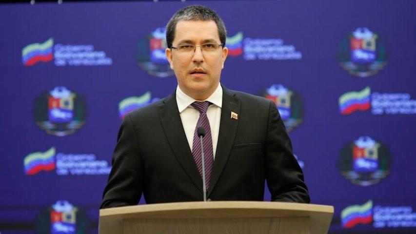 Diario Frontera, Frontera Digital,  JORGE ARREAZA, Nacionales, ,Arreaza tilda a Duque de «cínico»  por acusar a Venezuela de terrorismo